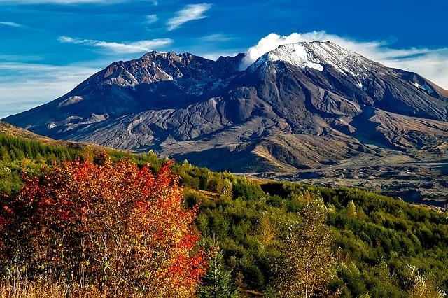 Mount St Helens, Washington, Mountains, Landscape