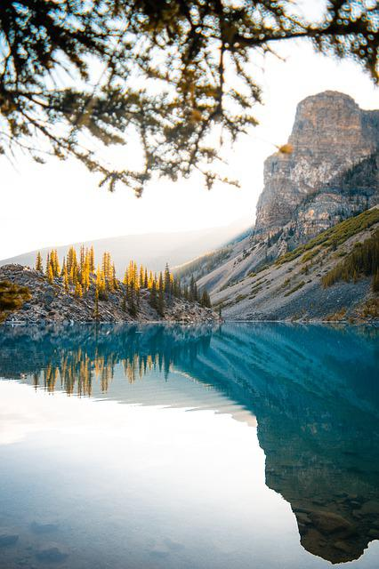 Mountains, Blue Lake, Landscape, Nature, Water