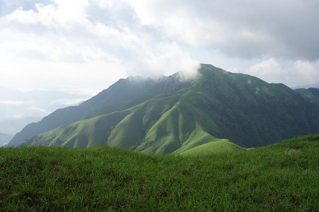 Wugongshan, Mountains, Clouds