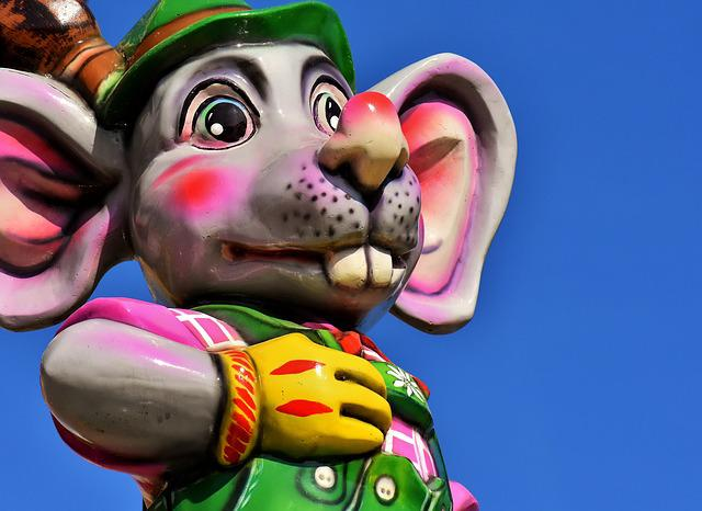 Mouse, Figure, Funny, Decoration, Cute, Sculpture