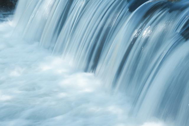 Waterfall, Water Level, Movement, Dynamics, Water