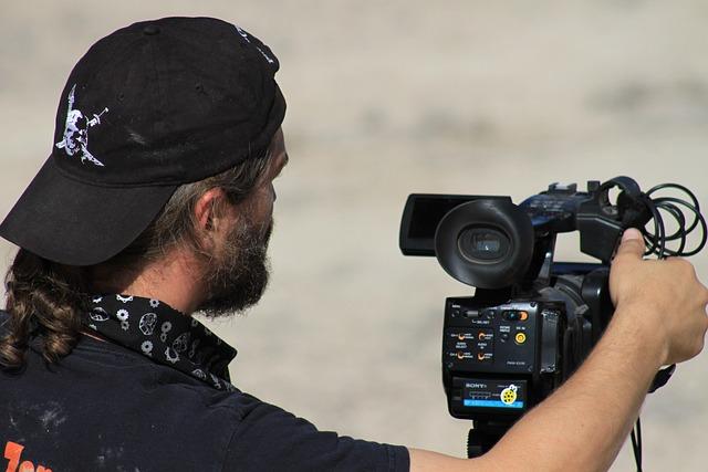 People, Man, Adult, Film Director, Movie Camera