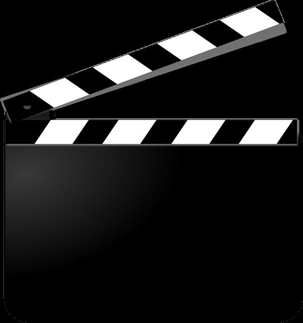 Clapperboard, Film, Movie, Cut, Filmmaking, Video