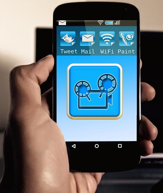 Cinema, Movie Projector, Projector, Smartphone