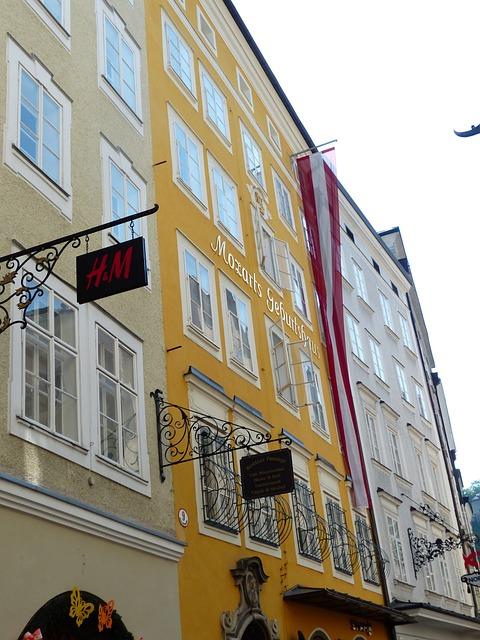 Mozart, Birthplace, Wolfgang, Amadeus, Salzburg