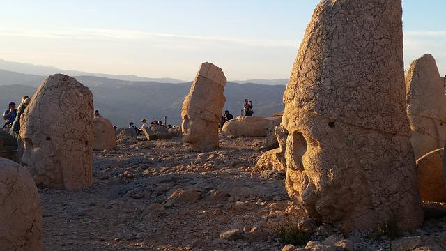 Mt Nemrut, Turkey, Commagene, Antiochus, Anatolia