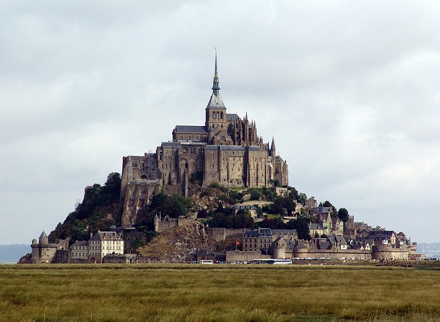 Mt Saint Michel, Island, France