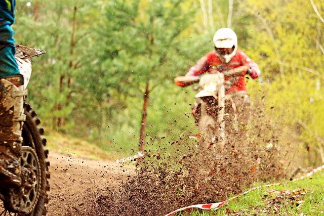 Enduro, Motocross, Mud, Dirt, Motorcycle, Cross