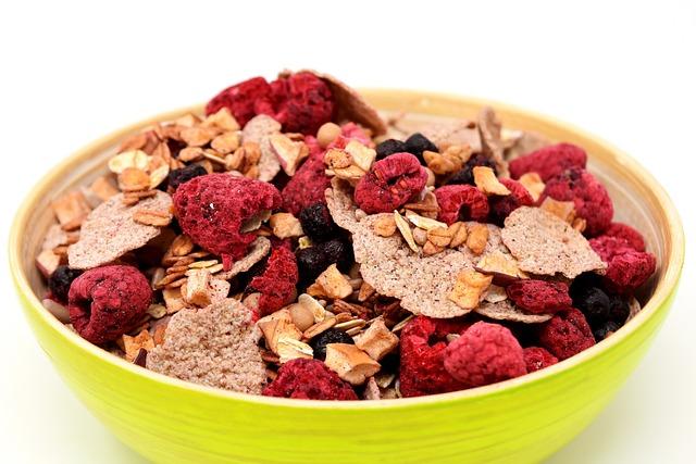 Muesli, Bowl, Healthy, Food, Eat, Müesli, Cereals