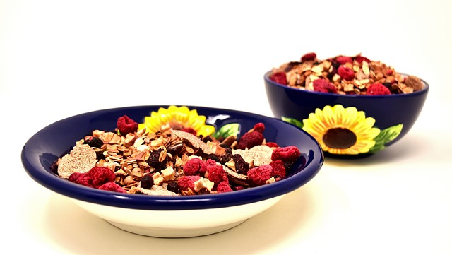 Muesli, Bowl, Healthy, Food, Eat, Müesli, Cereals