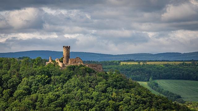 Mühlburg, Castle, Fortress, Architecture, Middle Ages