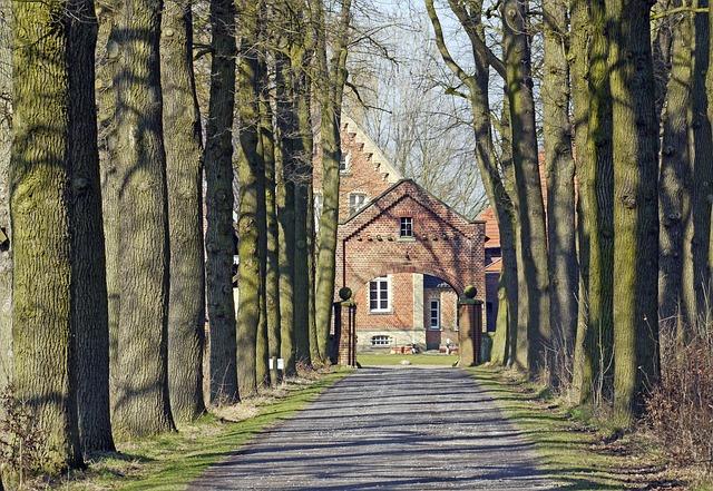 Oak Avenue, Hofzufahrt, Gräftenhof, Münsterland