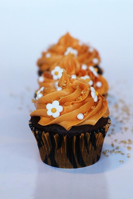 Cupcakes, Muffin, Muffins, Cake Decorations, Cream