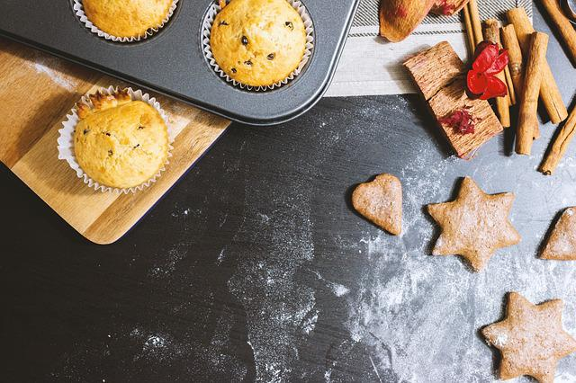 Christmas, Holiday, Winter, Baking, Cookies, Muffins