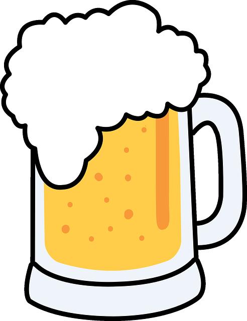 Beer, Froth, Glass, Mug, Cold, Alcohol, Drink, Beverage