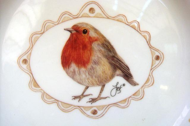 Robin, Ceramics, Mug, Crafts, Nice