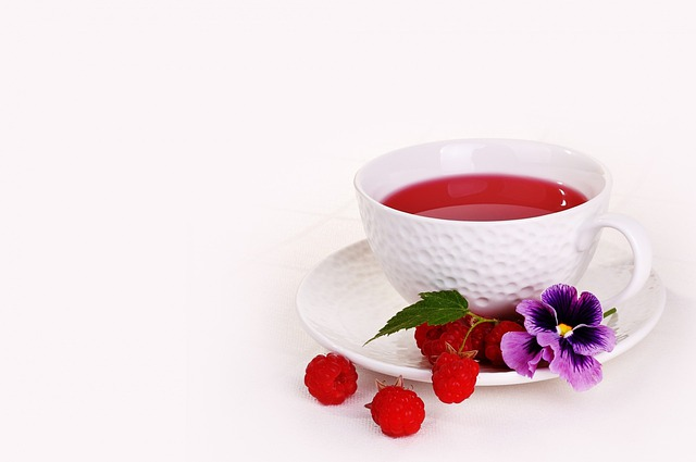 Mug, Raspberries, Berry, Tea, Drink, Refreshments