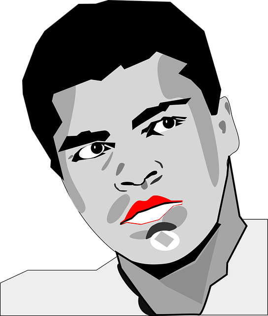 Heavy Weight, Mohammed Ali, Muhammed Ali, Portrait