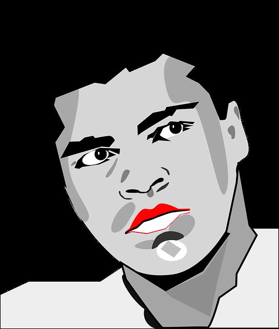 Heavy Weight, Mohammed Ali, Muhammed Ali, Portrait