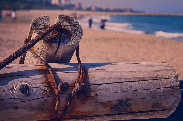 Beach, Old, Rust, Metal, Abandoned, Ruin, Mulching
