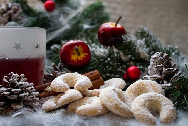 Christmas, Vanillekipferl, Mulled Wine, Advent, Tee