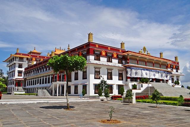 Drepung Gomang Monastery, Mundgod, Tibetan Settlement