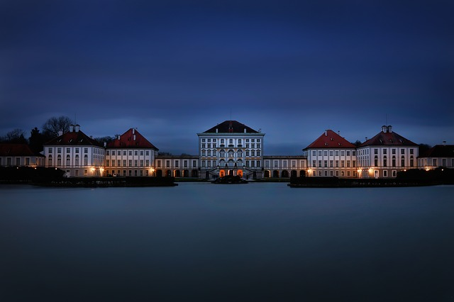 Munich, Nymphenburg Palace, Blue Hour