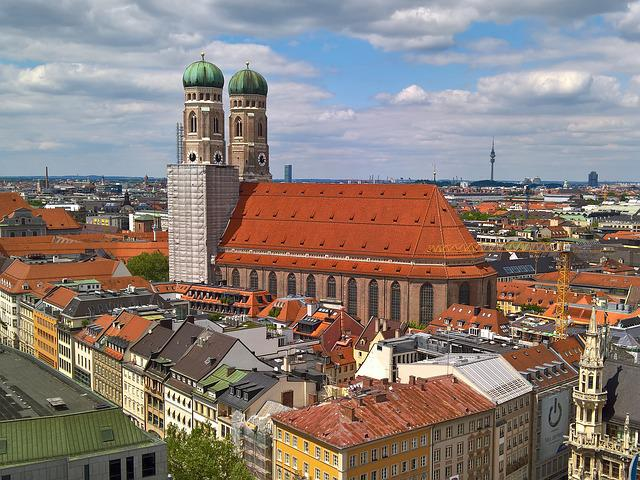 Munich, Cathedral Of Our Lady, Frauenkirche, Bavaria