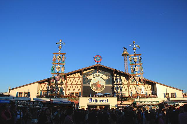 Oktoberfest, Munich, Marquee, Tradition, Bavarian