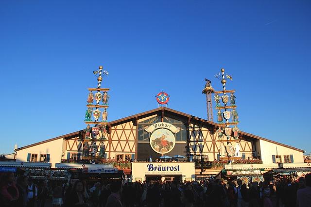 Oktoberfest, Munich, Marquee, Tradition, Bavarian