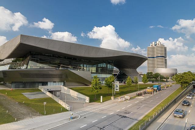 Munich, Bmw Welt, Architecture, Bmw World, Olympic Park