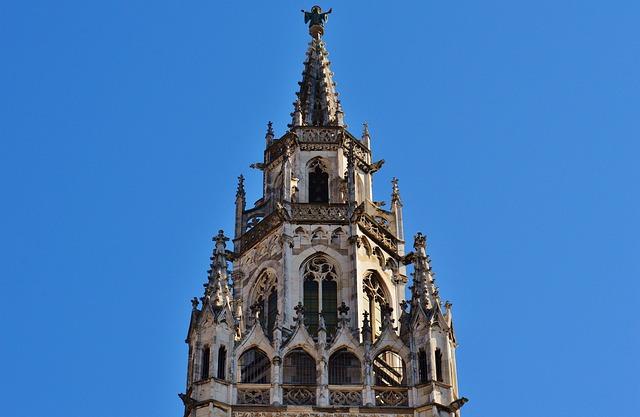 Town Hall, Munich, Spire, Marienplatz
