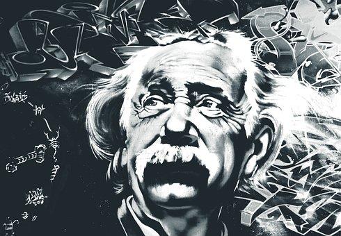Einstein, Albert Einstein, Street Art, Mural