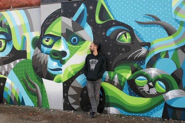 Streetart, Hasselt, Mural, Artist, Man, Street Art