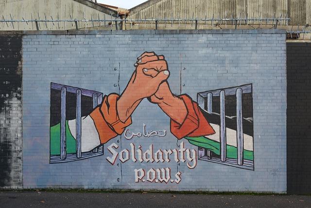 Mural, Belfast, Conflict, Prisoner Of War, Prisoners