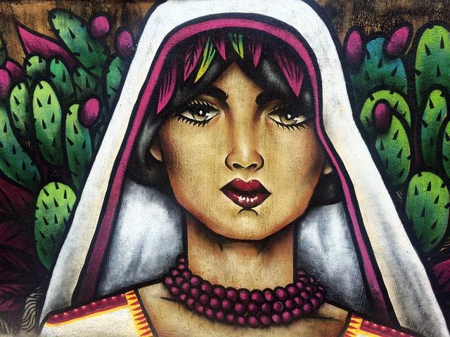 Mural, Street, Art, Wall, Outdoor, Mexico, Sanpancho