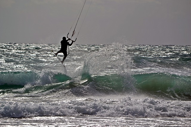Mediterranean, Surf, Kite Surfing, Kite Surf, Murcia