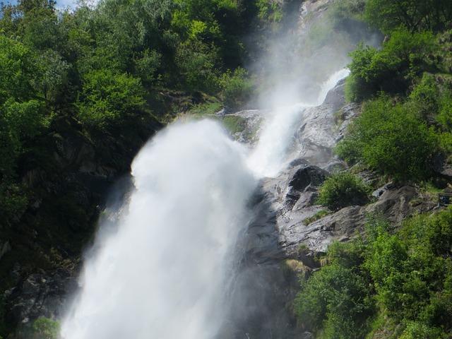 Waterfall, Flow, Murmur, Plunge, Water, Nature, Waters