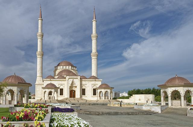 Oman, Muscat, Saeed Bin Taimur-masjid-mosque, Minaret