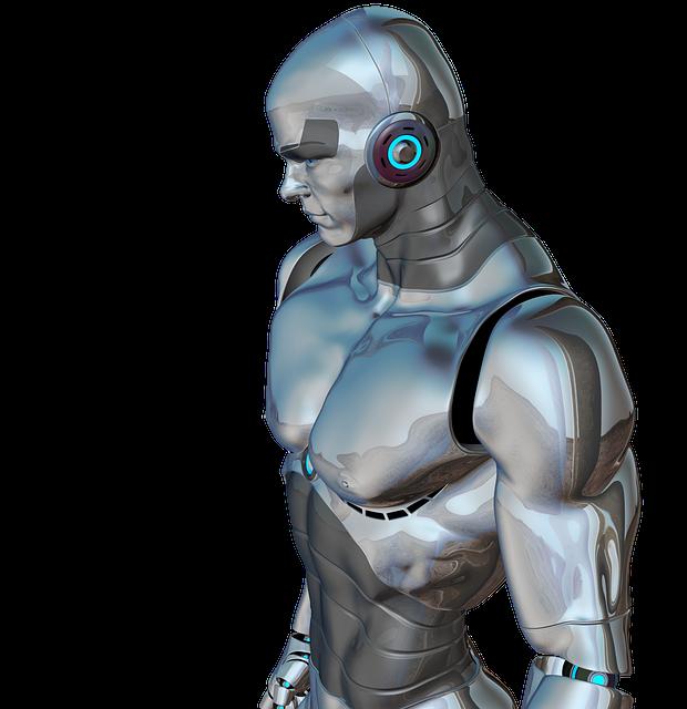 Man, Muscular, Robot, Cyborg, Android, Robotics, Future