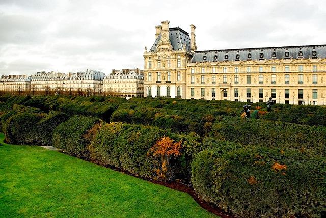 Louvres, Museum, Paris, Garden, Parc, Musée, Historic