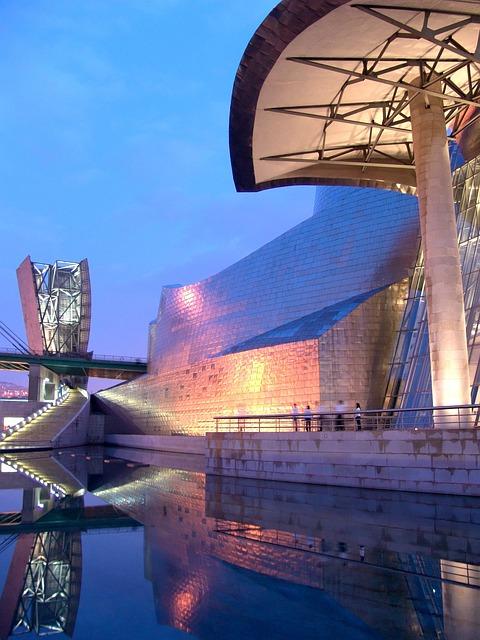 Bilbao, Guggenheim, Museum, Trip, Architecture, Travel