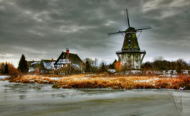 Mills, Museum, Building, Historically, Gifhorn, Wing