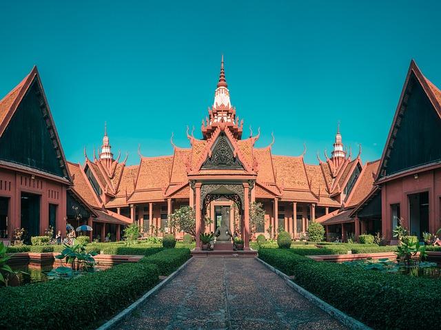 Cambodia, Phnom Penh, National Museum, Museum