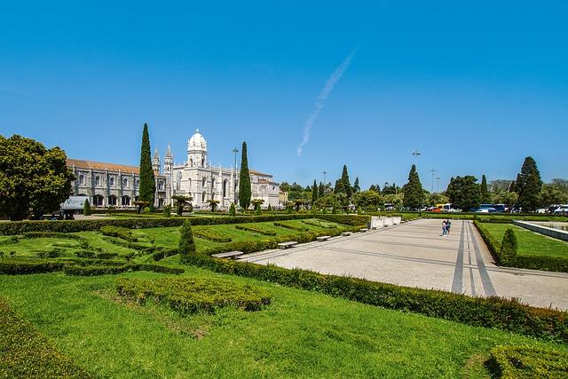 Monastery, Lisbon, Portugal, Museum, Marble, Columnar