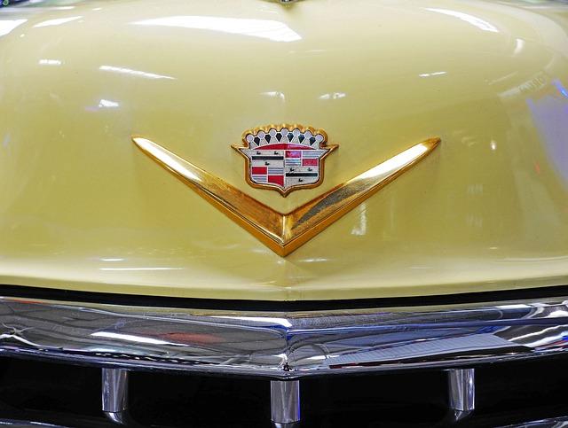 Cadillac, Emblem, Front, Hood, Museum, Classic, Old