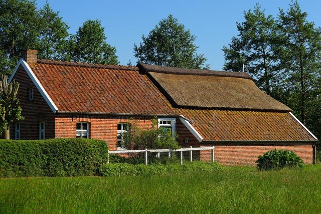 Fehnhaus, Museum, Old Fehnhaus, Door Rear, Historically
