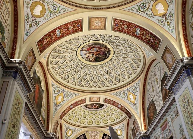 Museum, Ceiling, Light, Interior, Building
