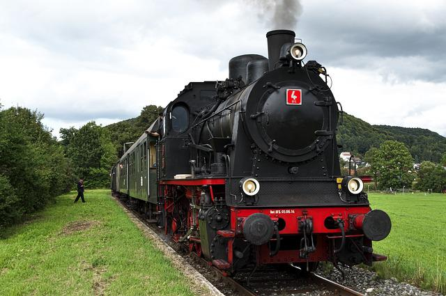 Steam Locomotive, Tank Locomotive, Museum Railway