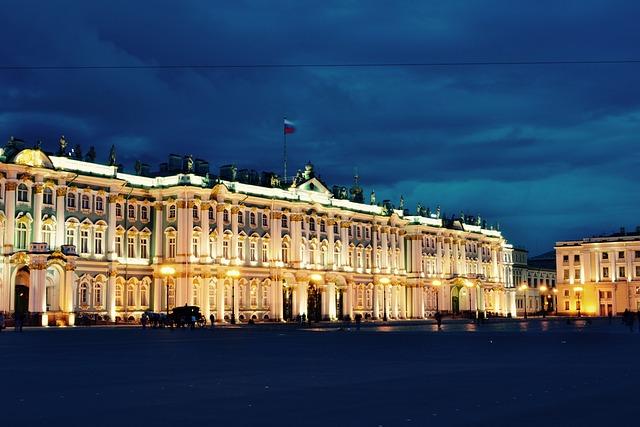 Russia, Hermitage, Saint, Petersburg, Museum, Palace